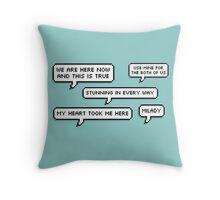 Robin Hood quotes Throw Pillow