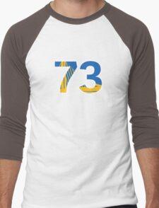 Golden State Warriors Record Breaking 73 Wins Men's Baseball ¾ T-Shirt