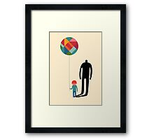 Grow up Framed Print