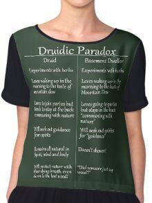The Druidic Paradox Chiffon Top