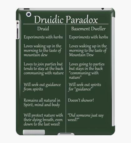 The Druidic Paradox iPad Case/Skin