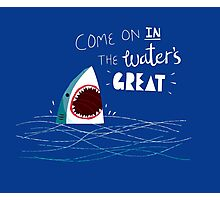 Great Advice Shark Photographic Print