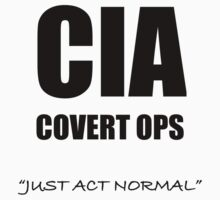 CIA Covert Ops One Piece - Short Sleeve