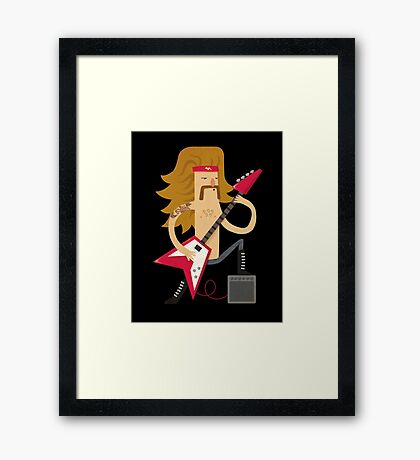 For Those About To Rock Framed Print