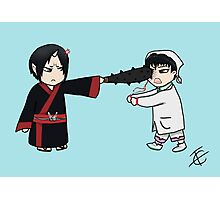Chibi Hoozuki and Hakutaku  Photographic Print