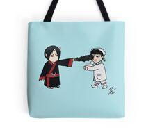 Chibi Hoozuki and Hakutaku  Tote Bag