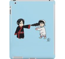 Chibi Hoozuki and Hakutaku  iPad Case/Skin