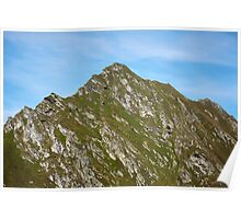 Mountain peak Poster