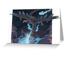 Mega Charizard X Greeting Card