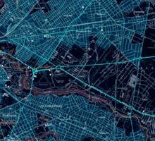USGS TOPO Map New Jersey NJ Camden 254232 1949 24000 Inverted Sticker