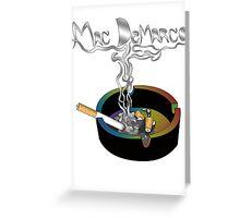 Mac DeMarco - smokin shit 2 Greeting Card