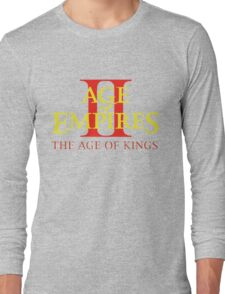 Age of Empires 2  Long Sleeve T-Shirt