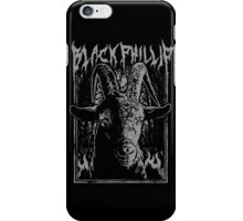 Black Metal Phillip iPhone Case/Skin