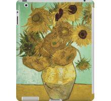 Vincent Van Gogh - Sunflowers  iPad Case/Skin