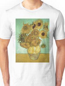 Vincent Van Gogh - Sunflowers  Unisex T-Shirt