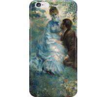 Renoir Auguste - Lovers iPhone Case/Skin