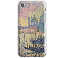 Paul Signac - Entrance To The Grand Canal Venice iPhone Case/Skin