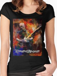 DAVID GILMOUR WORLD TOUR 2016 Women's Fitted Scoop T-Shirt