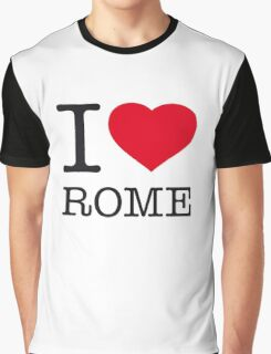 I ♥ ROME Graphic T-Shirt