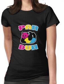 Pan Duh Panda Pansexual LGBT Pride Womens Fitted T-Shirt