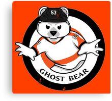 Ghost Bear Canvas Print