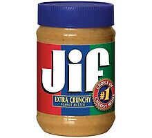 Jif Peanut Butter (Extra Crunchy) Photographic Print