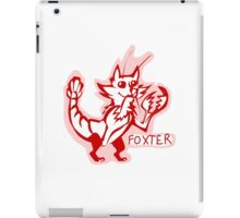 Foxter iPad Case/Skin