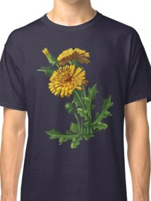 Dandelion - acrylic painting on canvas Classic T-Shirt