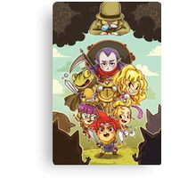 Chibi Chrono Trigger Canvas Print
