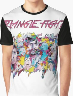 Triangle Fight's Face-Splash Graphic T-Shirt