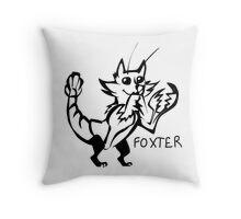 Foxter Throw Pillow