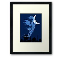 Arabian Nights Desert Wind Djinn Framed Print