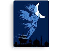 Arabian Nights Desert Wind Djinn Canvas Print
