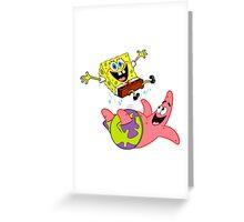 Jumping Greeting Card
