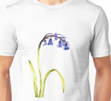 Ink Bluebell Painting (Original Artwork) Unisex T-Shirt