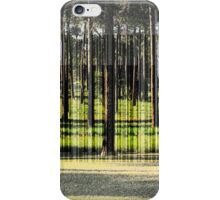A Stand of Pines iPhone Case/Skin