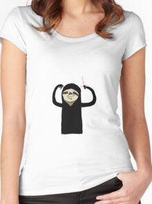 The Sloth Awaken Women's Fitted Scoop T-Shirt