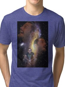 The Space Face Tri-blend T-Shirt