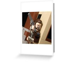 Lego The Walking Dead Rick Grimes Greeting Card