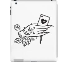 Lover's Hand iPad Case/Skin