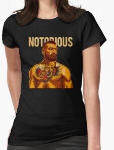 Notorious - Mcgregor Womens Fitted T-Shirt