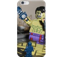 Lego Marvel's Hulk Helicarrier Attack iPhone Case/Skin