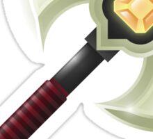 Battle Axe Sticker