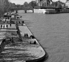 Paris in the Spring Sticker