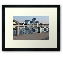 Architecture of St. Petersburg  Framed Print