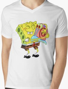 Hug Me Mens V-Neck T-Shirt