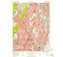 USGS TOPO Map New Jersey NJ Orange 254675 1955 24000 Photographic Print