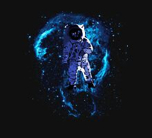 Space - Astronaut standing in the Nebula Unisex T-Shirt
