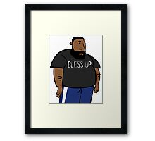Bless Up Framed Print
