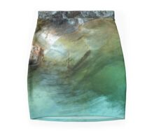 Lake in a river Mini Skirt